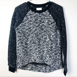 Lou & Grey Marled Knit Pullover Sweater